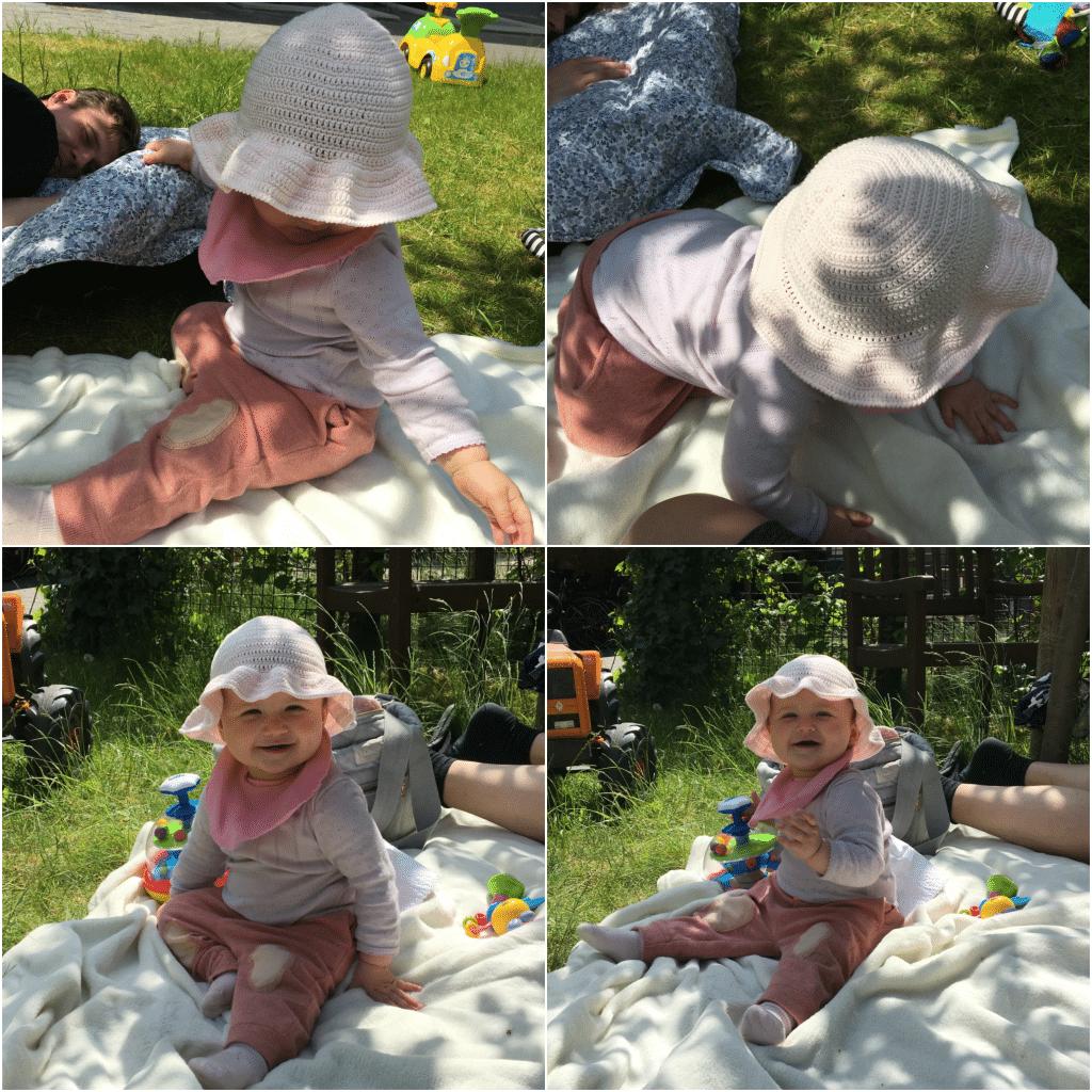 hæklet sommerhat baby opskrift