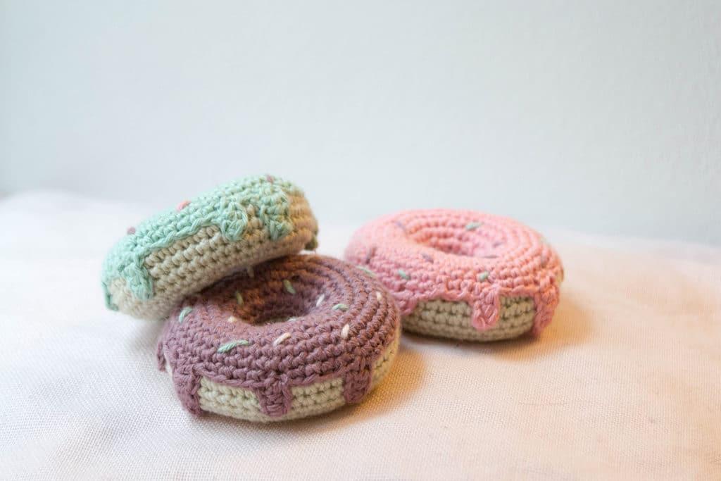 hæklede donuts