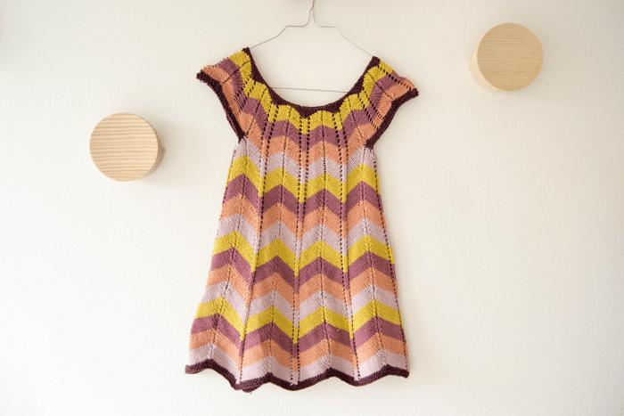 strikket sommerkjole