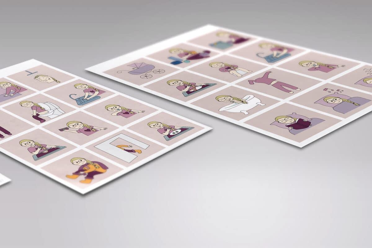 Personlige print selv piktogrammer